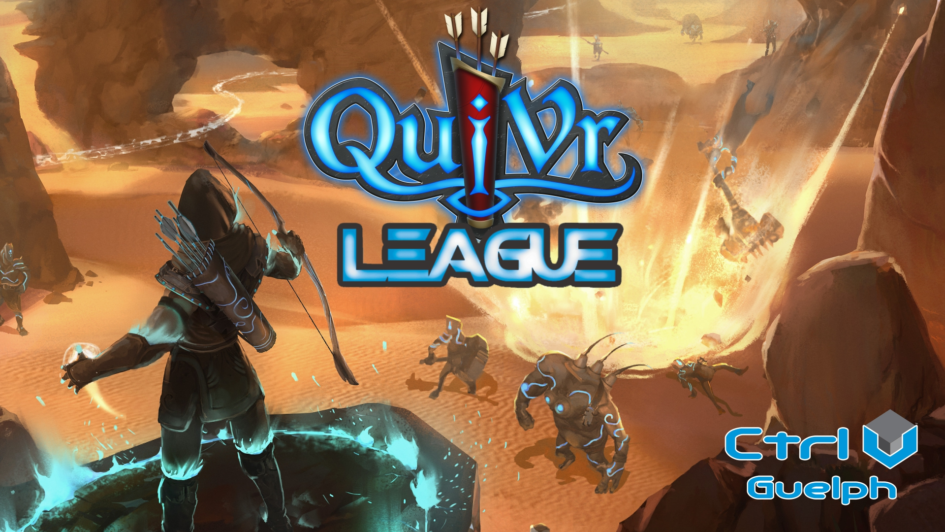 QuiVr League Graphic