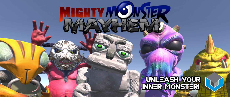 Mighty Monster Mayhem Slider