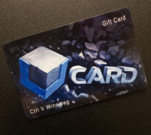 Ctrl V Winnipeg Gift Card