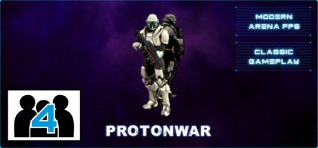 Proton War Multiplayer Header