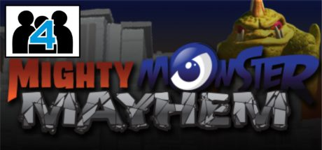 Mighty Monster Mayhem Multiplayer Header