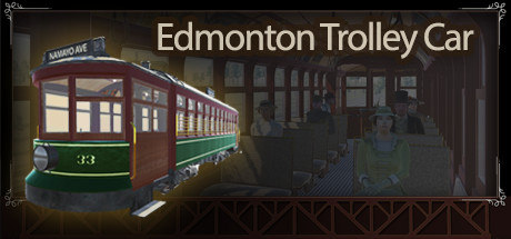 Edmonton Trolley Car Header