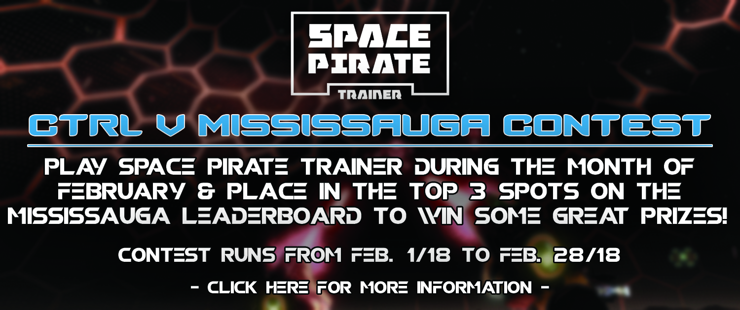 Ctrl V Mississauga Space Pirate Trainer Contest