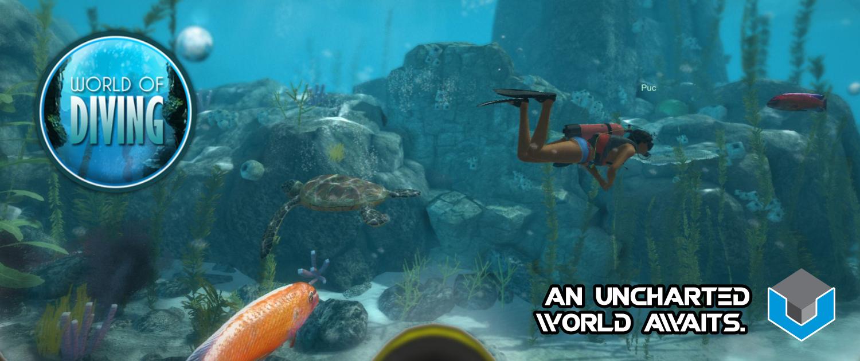 World of Diving Slider