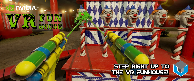 NVIDIA VR Funhouse Slider