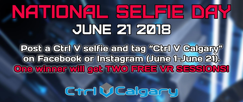 Calgary National Selfie Day Slider