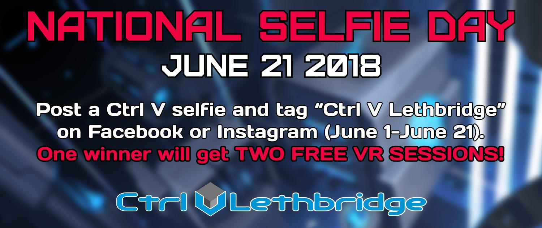 Lethbridge National Selfie Day Slider