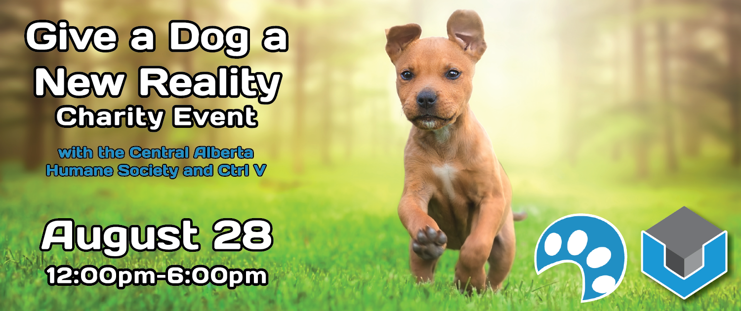 Red Deer: Give a Dog a New Reality