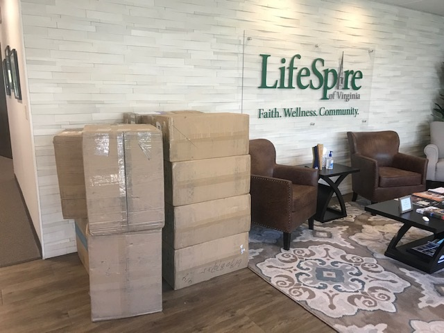 LifeSpire Delivers 4,400 Masks to The Culpeper