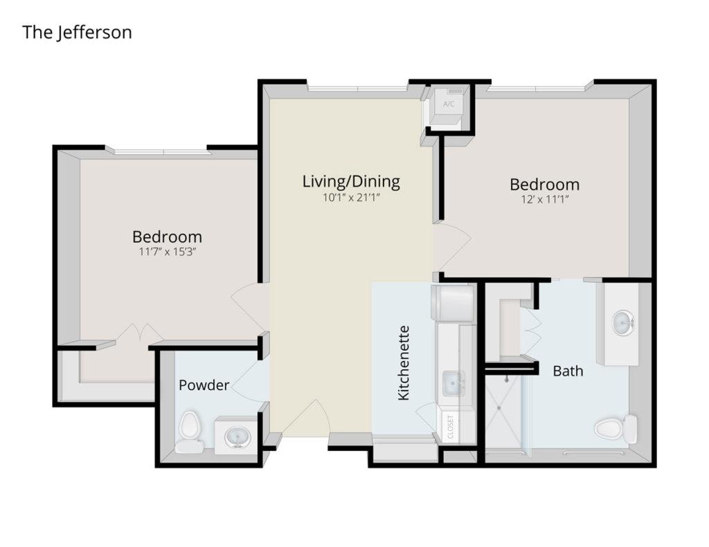 The Jefferson senior apartment in Culpeper, VA
