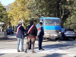 In valle Roja tra multe e camionisti costretti al dietrofront (IMMAGINI ESCLUSIVE)