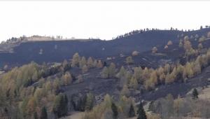 La situazione degli incendi in provincia di Cuneo è in miglioramento