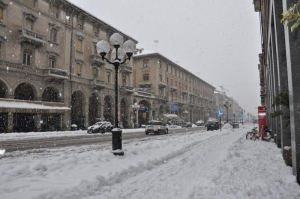 Cuneo, previsti trenta centimetri di neve