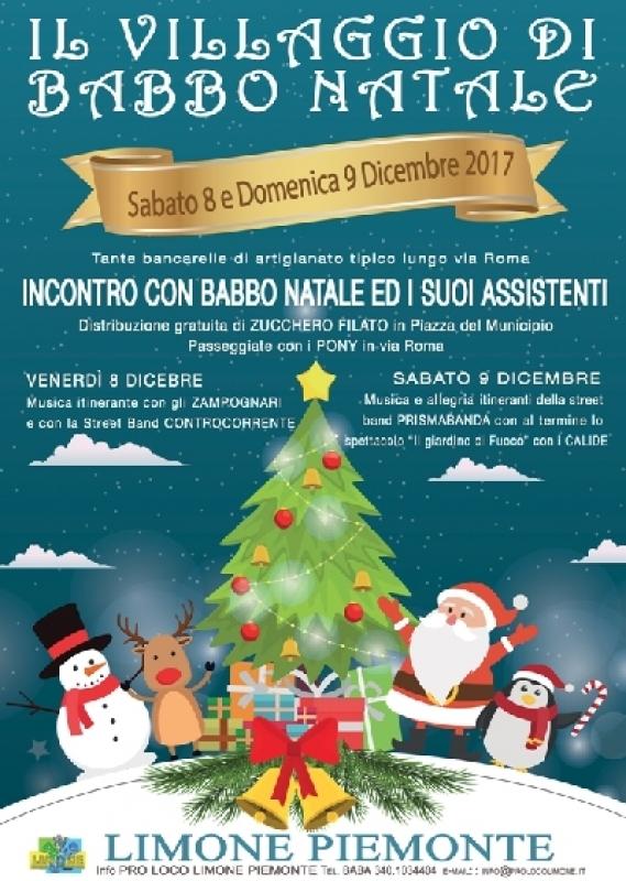 Babbo Natale 8 Dicembre Roma.Il Villaggio Di Babbo Natale Cuneodice It