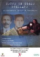 Lo spettacolo 'Ricordando Sacco e Vanzetti' al Teatro Toselli