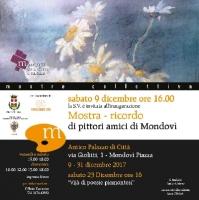 La mostra ricordo di pittori amici di Mondovì presso Antico Palazzo di Città