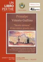 La rassegna Un libro per the presenta 'Storie minime di un'antica, grande città' di Vittorio Gullino