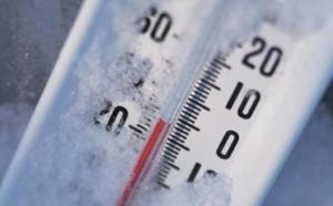 Stamattina freddo polare in provincia di Cuneo