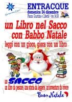 Entracque: 'Un libro nel sacco con Babbo Natale'
