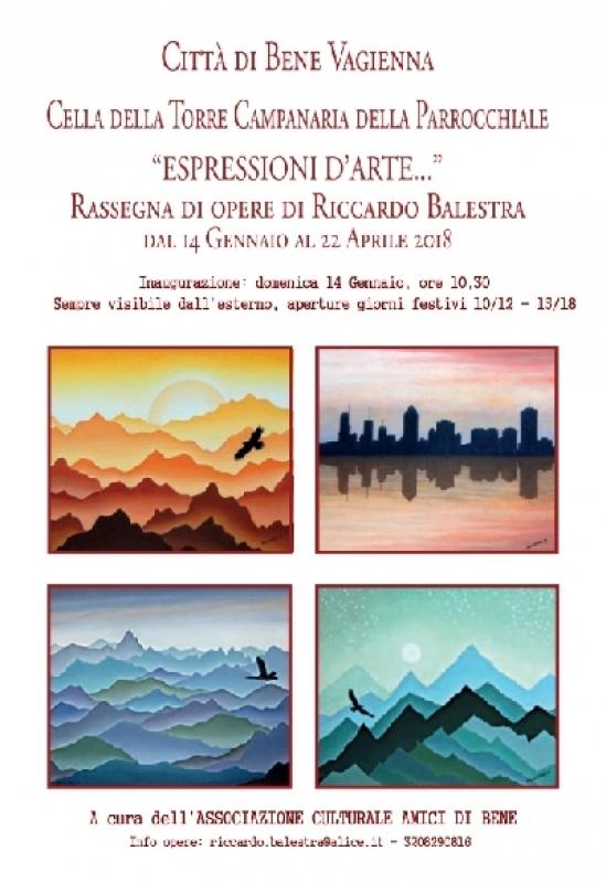 A Bene Vagienna 'Espressioni d'Arte...' di Riccardo Balestra