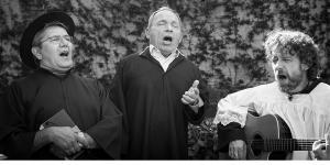 Dogliani: spettacolo 'La 1/2 ora canonica' con Pippo Bessone, Azio Citi e Luca Occelli