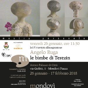 Mondovì: mostra personale di Angelo Ruga 'Le bimbe di Terezin'