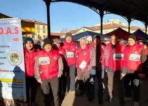 I donatori ADAS Saluzzo Fidas ancora protagonisti al Fitwalking