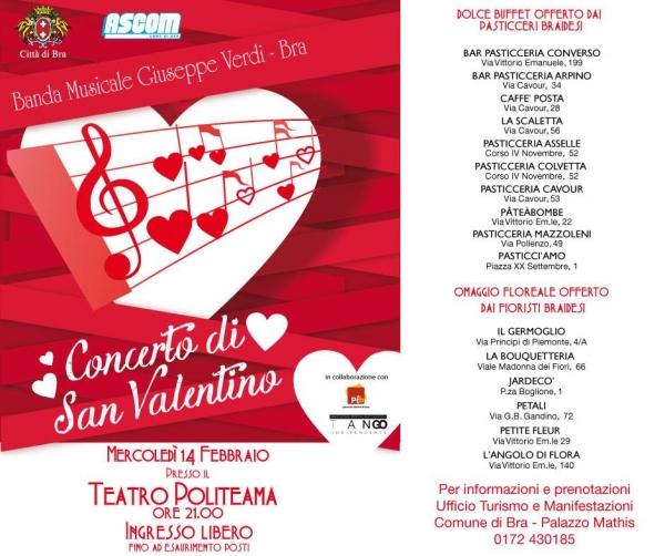 L Angolo Per L Ufficio Bra.San Valentino A Bra Ritorna Il Concerto Della Banda