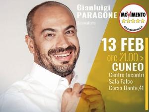 Gianluigi Paragone a Cuneo martedì 13 febbraio