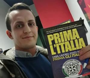 L'intervista a Fabio Corbeddu di CasaPound