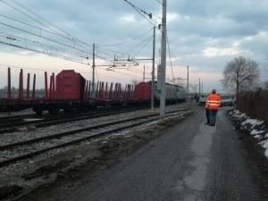 Treno merci deraglia nei pressi della stazione di Cuneo