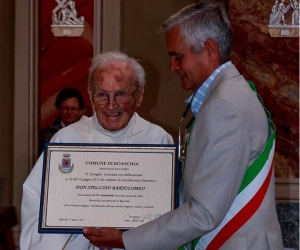 Roaschia piange Don Bartolomeo Stellino