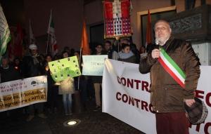 'Contro il neo fascismo, contro l'intolleranza'