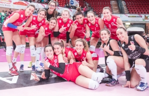 Fantastica UBI Banca S.Bernardo Cuneo: Chieri ko 3-0