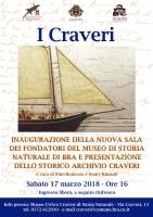 A Bra si inaugura la sala dei fondatori del Museo Craveri