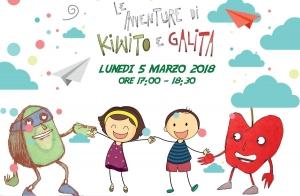 Le avventure di Kiwito e Galita: lettura e laboratorio artistico per bambini