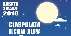 Bagnolo Piemonte: la ciaspolata al chiar di luna
