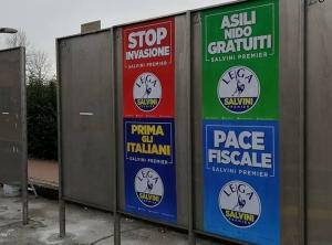 I Radicali attaccano Lega e CasaPound sui manifesti elettorali