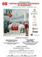 68ª Mostra Regionale Zootecnica di Quaresima