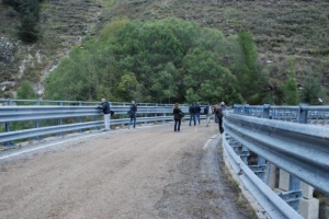 Intervento sul ponte del rio Bavera tra Imperia e Cuneo