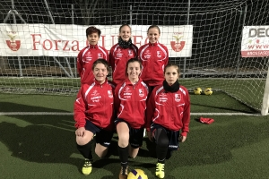 Cuneo Femminile, sei calciatrici convocate nella selezione regionale Under 15