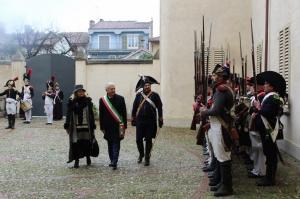 Sabato scorso l'evento napoleonico di Cherasco: le foto