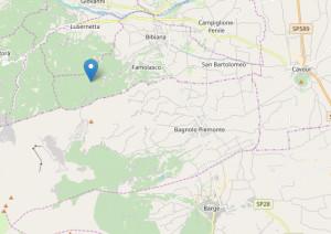 Terremoto di magnitudo 3.0 avvertito nel Saluzzese