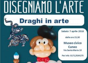 Anche il Museo civico di Cuneo partecipa all'edizione 2018 di Disegniamo l'Arte