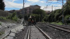 Lavori di manutenzione sulla ferrovia Bra-Alba