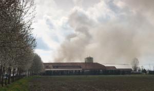 Incendio alla I.L.S.A. Food di Savigliano