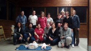 Dodici nuovi abilitati all'uso del defibrillatore a Monterosso Grana