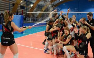 Pallavolo, promozione in Serie C per la Libellula Volley