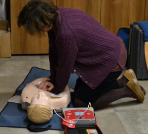 Busca, sabato 26 maggio un altro corso per imparare l'uso del defibrillatore