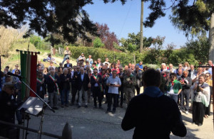 Santo Stefano Belbo: folta partecipazione al raduno partigiano a Valdivilla per il 25 aprile